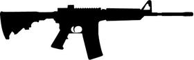 AR15 Decal / Sticker b