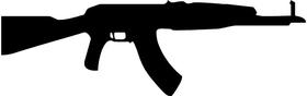 AK-47 Decal / Sticker 01