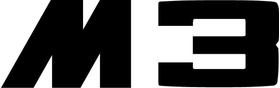 BMW M3 Decal / Sticker 60