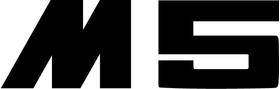 BMW M5 Decal / Sticker 57