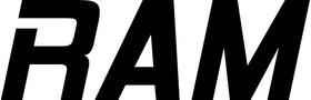 Ram Lettering Decal / Sticker 15