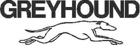 Greyhound Decal / Sticker