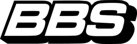 BBS Wheels Decal / Sticker 01