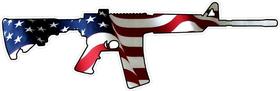 American Flag AR15 Decal / Sticker