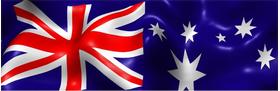 Australian Flag Decal / Sticker 04