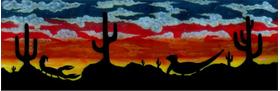 Desert Mural Decal / Sticker 01