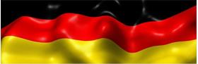 German Flag Decal / Sticker 04