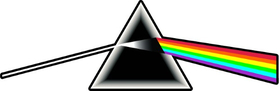 Pink Floyd Dark Side of the Moon Decal / Sticker 14