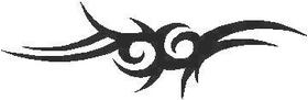 Tribal Decal / Sticker 15