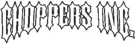Choppers Inc. 04 Decal / Sticker