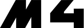 BMW M4 Decal / Sticker 59