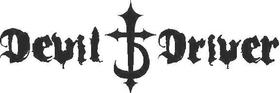 Devil Driver Decal / Sticker 04