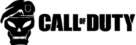 Call of Duty Skull Decal / Sticker 04