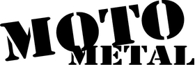 Moto Metal Decal / Sticker 05