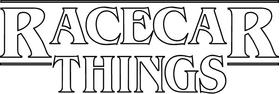 Racecar Things Decal / Sticker 02