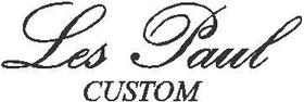 Les Paul Custom Decal / Sticker