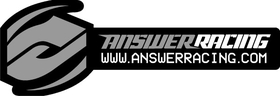 Answer Racing Decal / Sticker 13