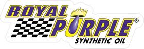 Royal Purple Decal / Sticker 10