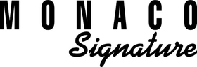 Monaco Signature Decal / Sticker 08