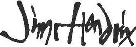 Hendrix Signature Decal / Sticker