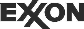 Exxon Decal / Sticker