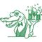 Alligator 01 Decal / Sticker