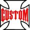 Custom Cross Decal / Sticker 01