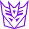 Decepticon Transformers Decal / Sticker 04