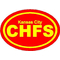 Kansas City Chiefs Oval Decal / Sticker