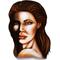 Angelina Jolie Decal / Sticker
