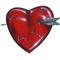 Arrowed Heart Decal / Sticker