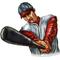 Baseball Player 05 Decal / Sticker