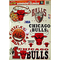 Chicago Bulls Window Cling Decals / Stickers