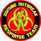 ' Zombie Outbreak Response Team Decal / Sticker