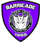 Purple Decepticon Police Shield Decal / Sticker 30