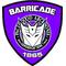 Purple Decepticon Police Shield Decal / Sticker 30