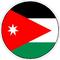 Circular Jordan Flag Decal / Sticker