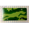zz Green Camouflage Blank License Plate