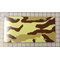 zz Tan Camouflage Blank License Plate
