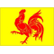 Wallonia Flag Decal / Sticker