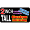 z16 Custom Lettering 2 Inch Tall Decal / Sticker
