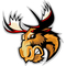 Moose Decal / Sticker 04