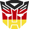 Autobot GermanFlag Decal / Sticker 06