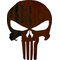 Rusted Punisher Decal / Sticker 30