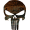 Rusted Punisher Decal / Sticker 31