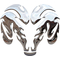 Simulated 3D Chrome Ram Decal / Sticker