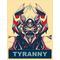 Vote Megatron Political Tyranny Decal / Sticker 02