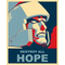 Vote Megatron Political Destroy All Hope Decal / Sticker 05