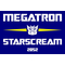 Vote Megatron Starscream Political Decal / Sticker 07