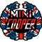 Mini Cooper UK Flag Decal / Sticker 06